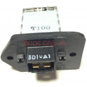 Резистор вентилятора печки